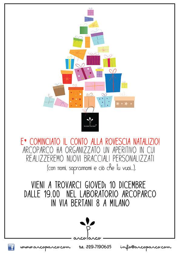 Aperitivo natalizio da Arcoparco! - CreatiVale